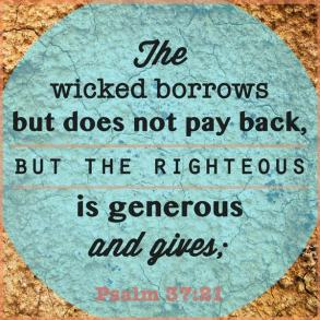 Borrow and Give