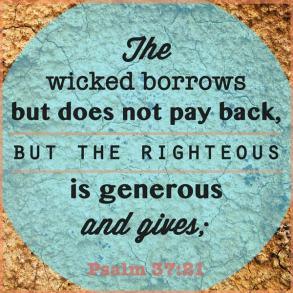 Borrow and Give